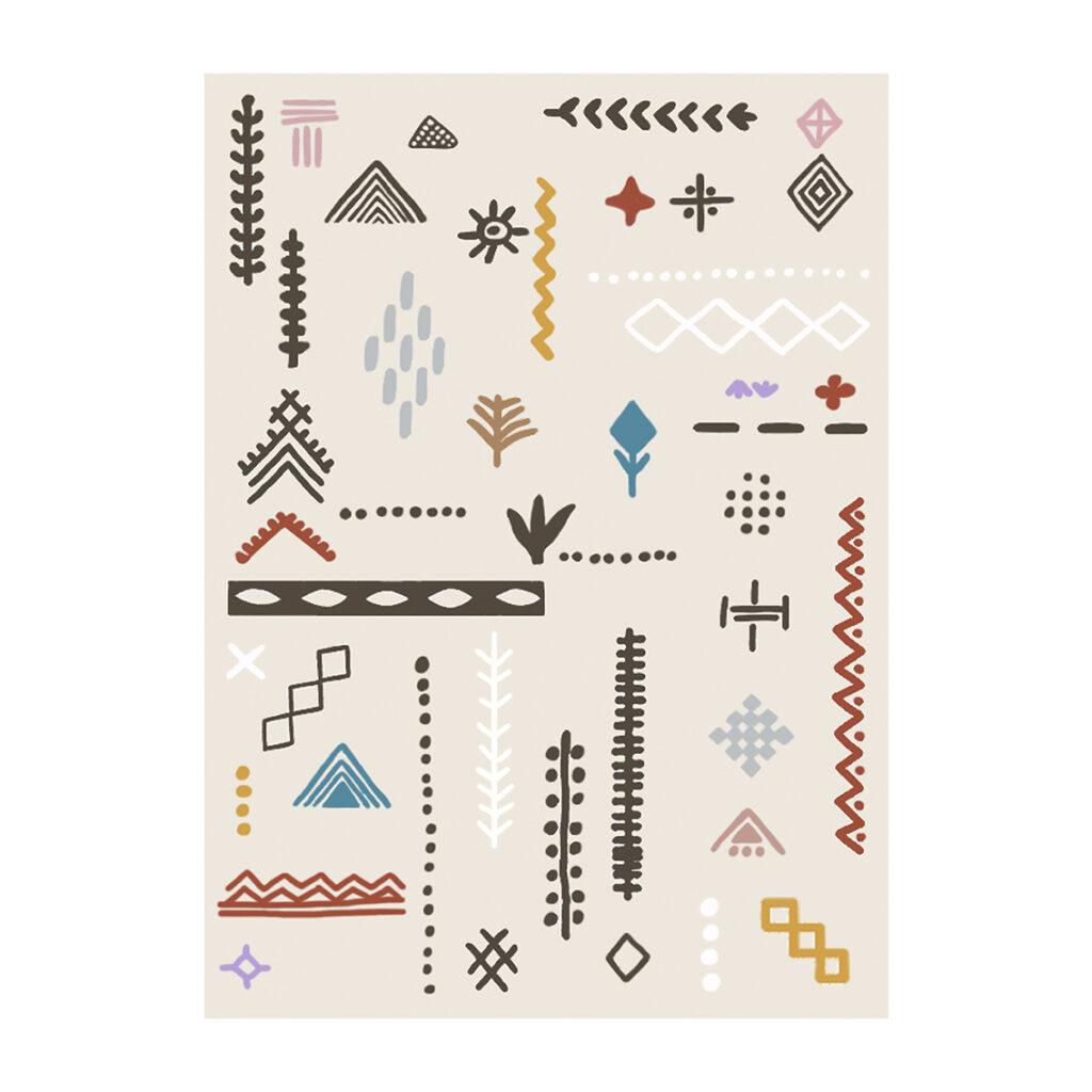 Illustratie Berber inspired