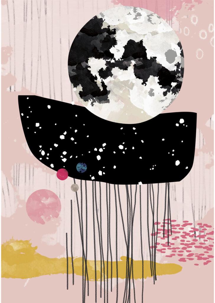Illustration Moonlight