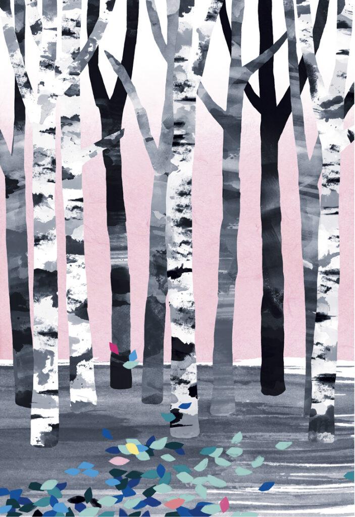 Illustration Sweet forest